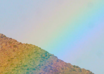 rainbow at Anza Borrego