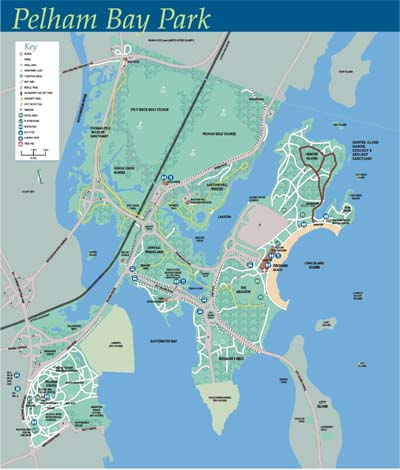 Pelham Bay Park map