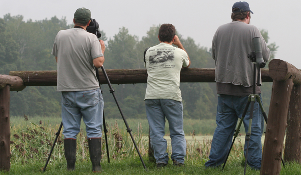 the three Butcher Birders who did not leave any equipment behind: Jory, Mike, and Will