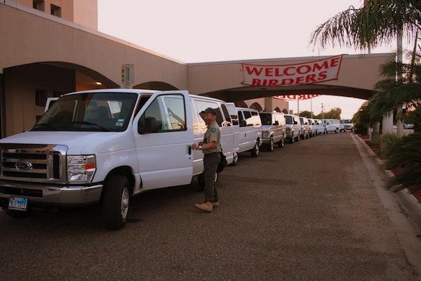 Field trip vans