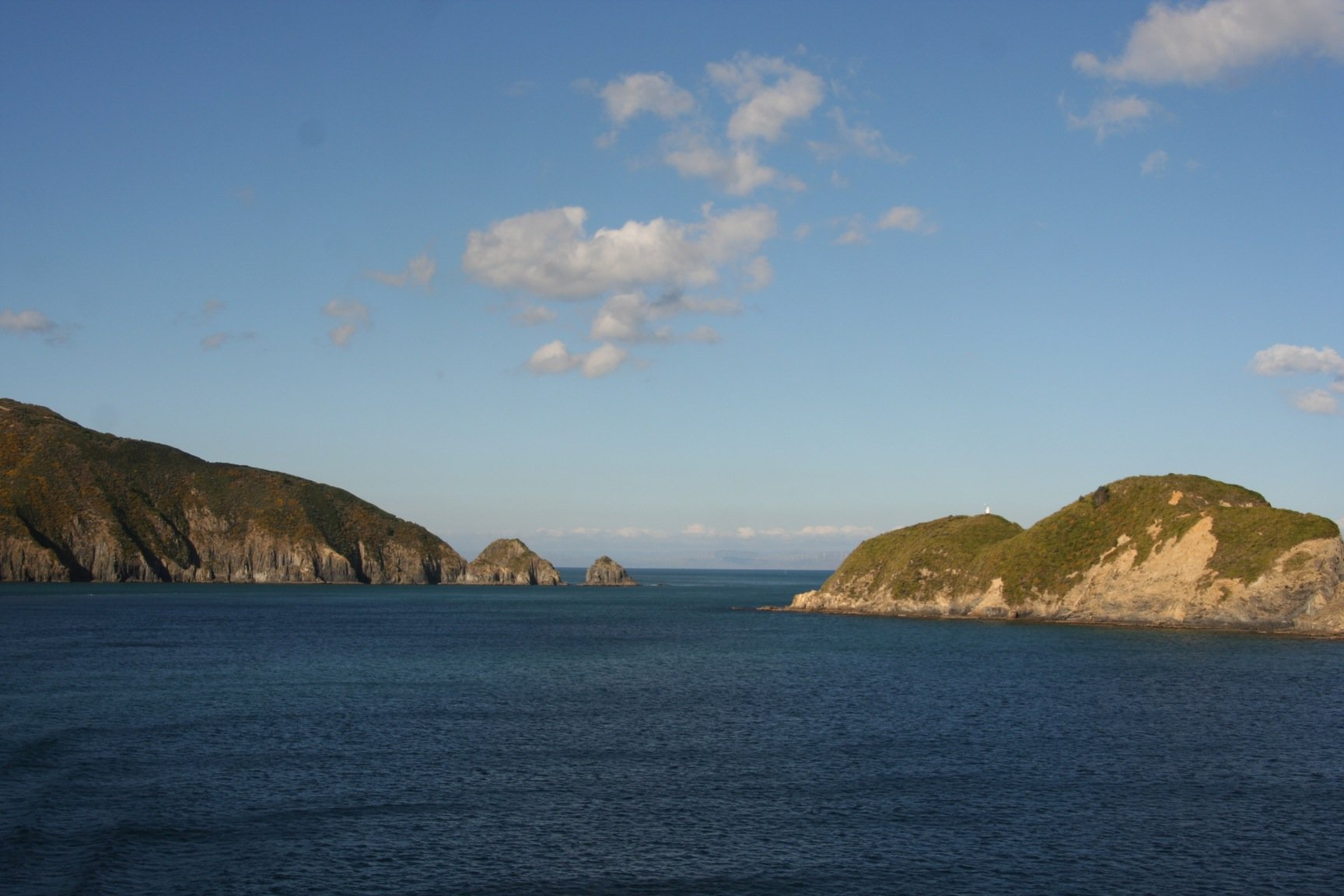 Marlborough Sounds entrance