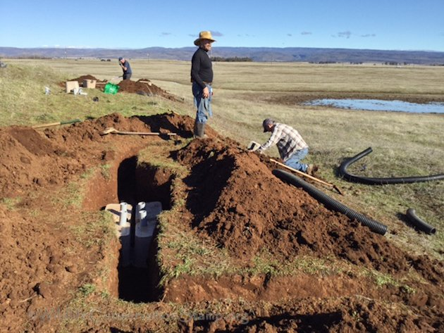 Burrowing Owl Habitat Install at Tuscan Preserve
