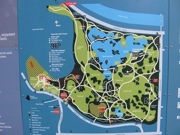 Botanical Gardens-Melbourne