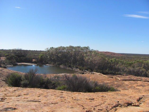 Burra Rock-dam