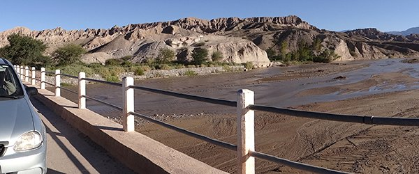 Calcahqui River Bridge