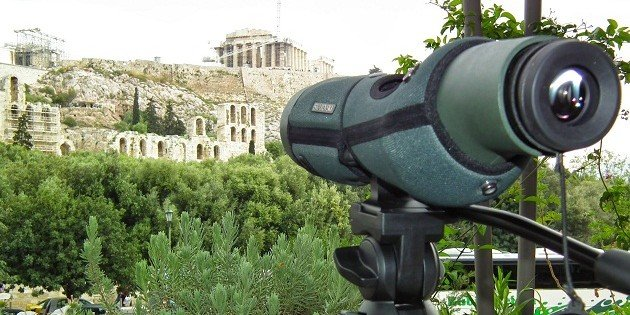 Birding the outskirts of Athens, Greece