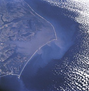 Hatteras from space
