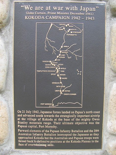 Kokoda memorial