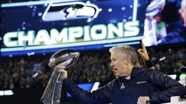 Seattle Seahawks Super Bowl champions!