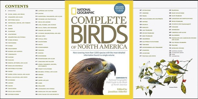 National Geographic Complete Birds of North America, 2nd Edition: A Book Review