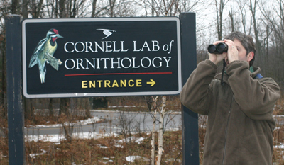 Mike Powers at the Cornell Lab of Ornithology